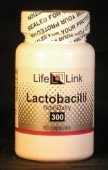 Lactobacillus Acidophilus 1 billion viable bacilli x 60 capsules