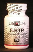 5-HTP (5-hydroxy-L-tryptophan) 100 mg x 60 caps