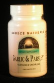 Garlic & Parsley 10/400 mg x 100 softgels