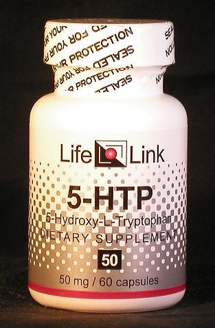 5-HTP (5-hydroxy-L-tryptophan) 50 mg x 60 capsules