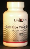 Red Rice Yeast (RYR) 600 mg x 120 capsules