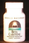 Beta-Carotene 25,000 i.u. x 100 softgels